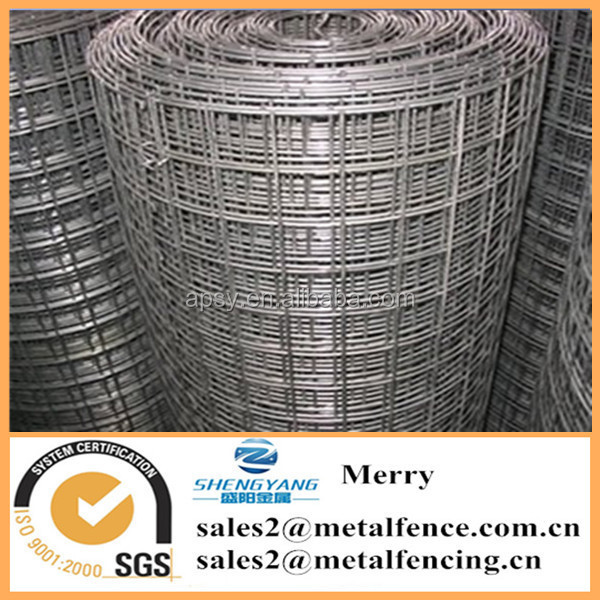 1X1/2 inch hardware fabric cloth 6ftX30m galvanized square welded wire mesh