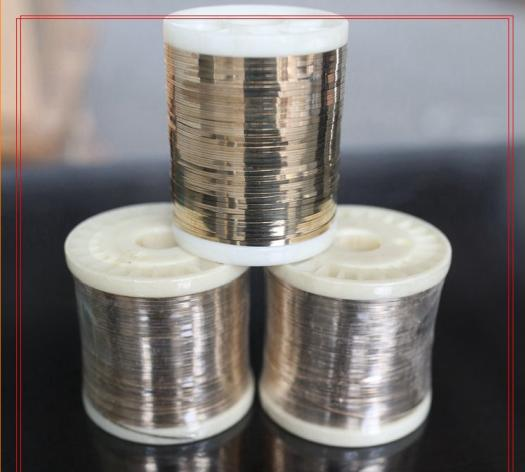 B35%AG-2 SILVER SOLDER BRAZING ALLOY SILVER WELDING FLAT WIRES