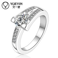 Wholesale charm crystals wedding rings