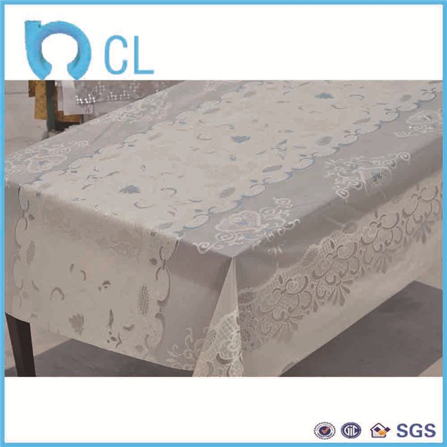 Made in china PVC transparent soft printing packing protective cover bed film for moving