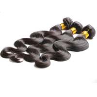 Natural Color 7A Hair Weft,Body Wave,Raw Unprocessed Virgin Peruvian Hair