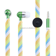small business ideas printing shoe lace wire earphone as 2016 gift item