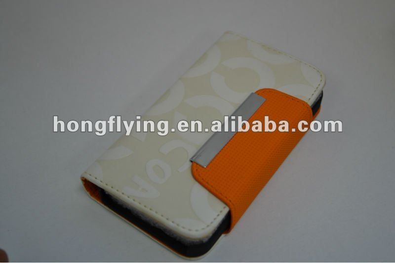 Top quality plating hard protective cover for iphone 4, leather covered case for iphone4g, leather holder for iphone4s