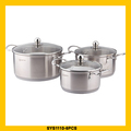 Professional stainless steel hot pot casserole with great price