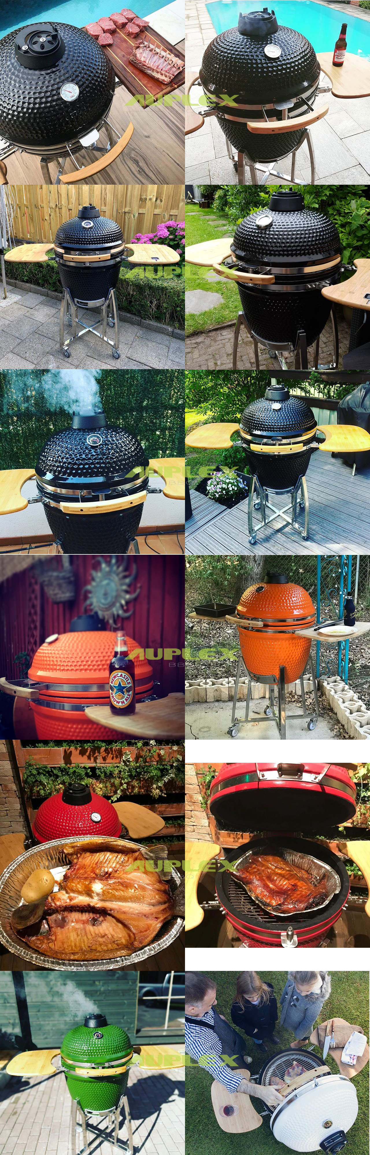 21'' Ceramic Barbecue Smoker Kamado Grill