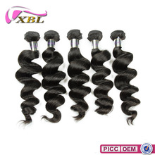 XBL Top Quality Factory Price No.1 Selling Black Lady 100% Virgin Remy Hair