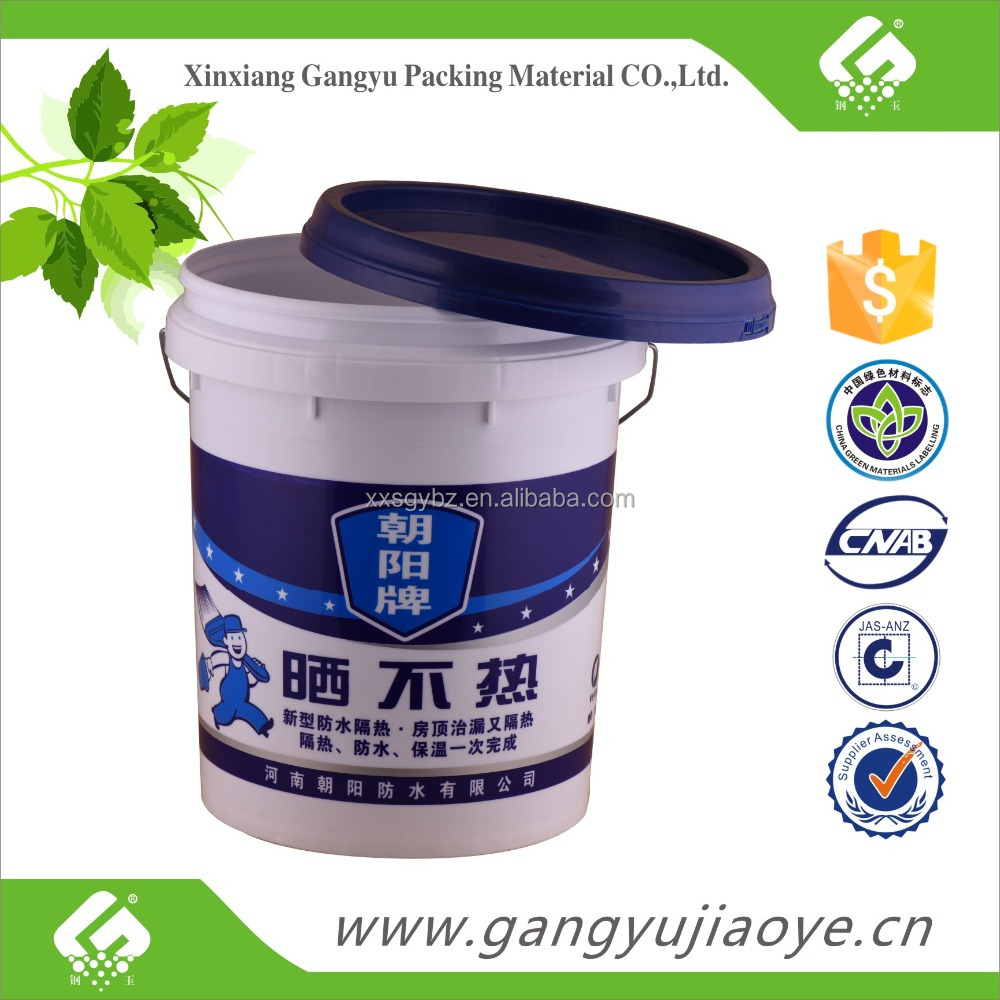 Wood water paint plastic bucket buy wood water paint for 5 gallon bucket of paint price