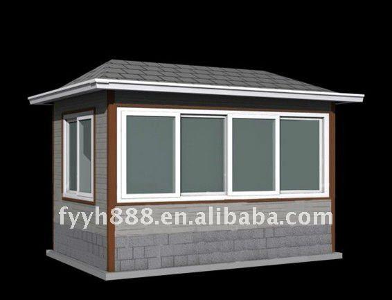 Protecci n del medio ambiente de los edificios for Kioscos prefabricados