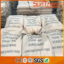 Fire resistance high temperature high alumina castable cement refractory cement