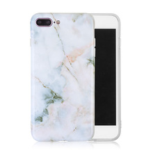 OEM Custom IMD TPU Marble Phone Case for iPhone 6 6s 7 7s 8 Mobile Phone Case