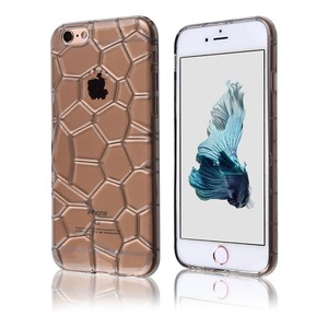 C&T Transparent Gel TPU Soft Shell Case Back Cover for Apple iPhone 6 / 6S Plus 5.5 inch