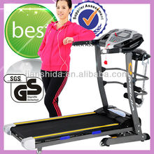 16% Incline Best selling Power incline treadmill with Massager and sit-up