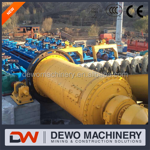 100tpd Mineral Stone ore powder Grinding mill mining machine Supplier