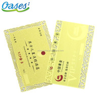metal business card china for wholesales