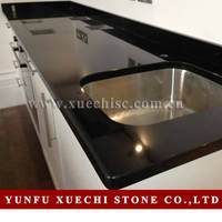 Xuechi Stone offers durable engineered black granite countertops for your kitchen and bathroom remodeling projects
