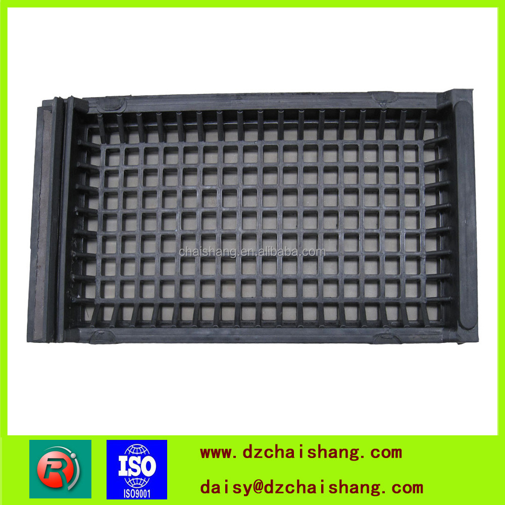 factory price high quality best service sieve ore mining rubber screen mesh