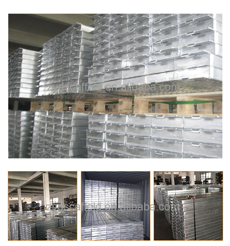 500*1800mm steel scaffolding walking plank,board