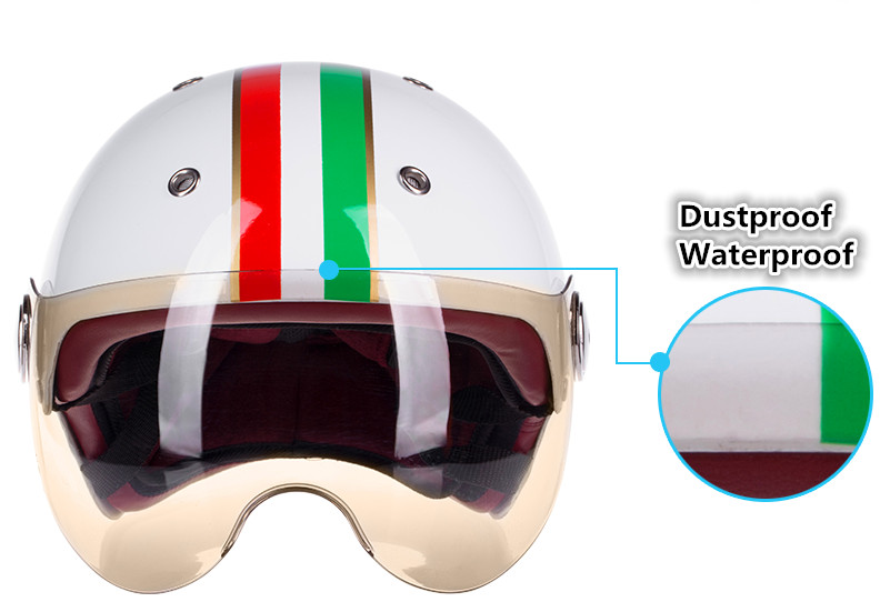 2016 high quality men and women universal motorcycle protective safe motor Electrombile/scooter Half Helmets