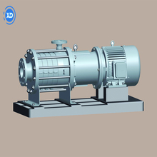 Multi-stage high pressure industrial coupling magnetic pump