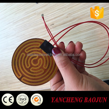 Flexible Kapton Polyimide Film Heater For 3D Printer
