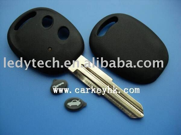 New style chevrolet 2 buttons remote key cover no logo,car key blank, auto key shell wholesale