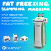 CE / FDA approved 5 cryo handles 10.4 inch touch screen cool shape body cavitation cryolipolysis slimming machine