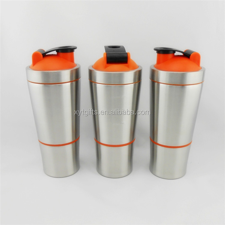 2016 Manufacturing Double Wall Insulated 700ML Stainless Steel Wide Mouth Water Bottle with Double Layers