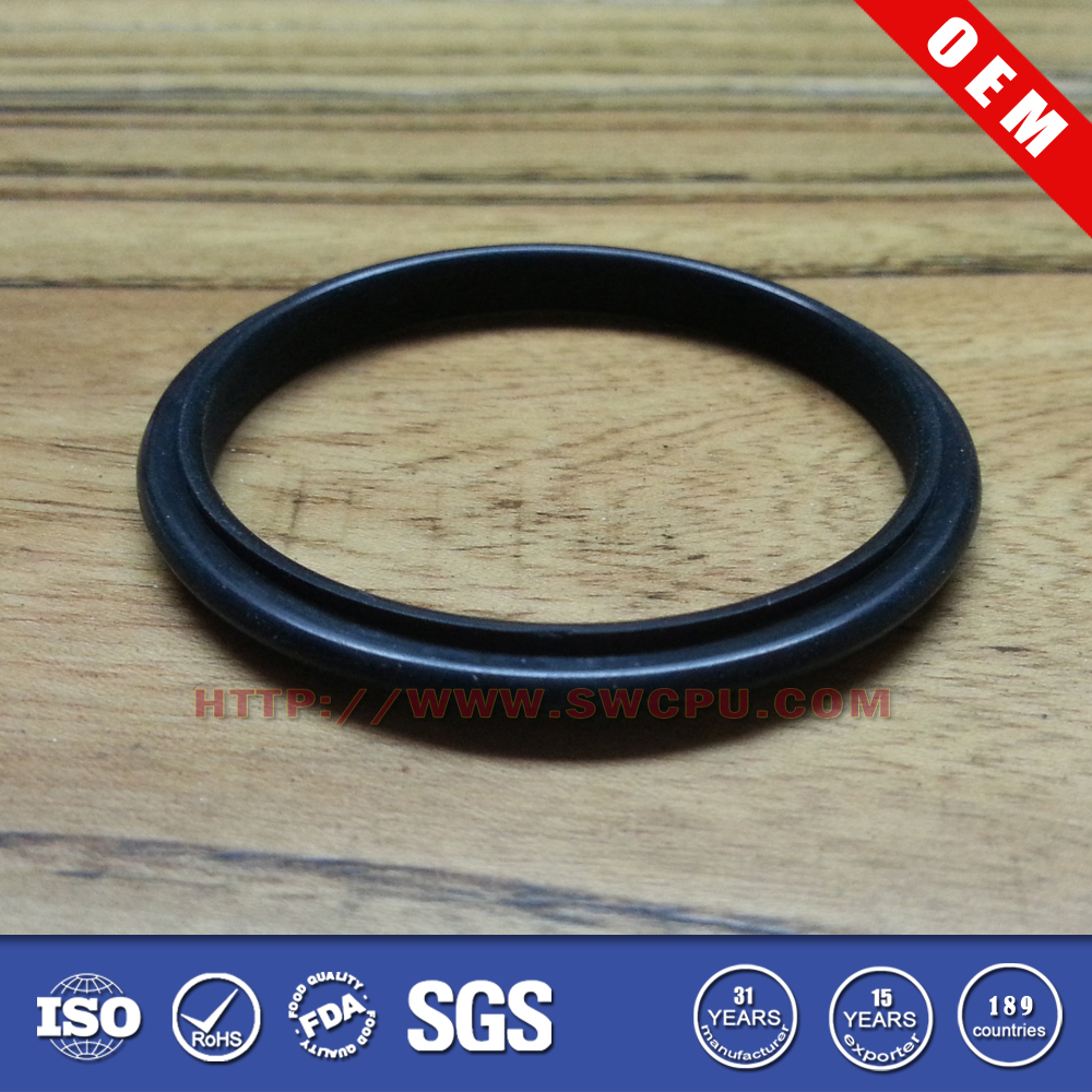 Mold OEM silicone rubber seal ring for pvc pipe cap
