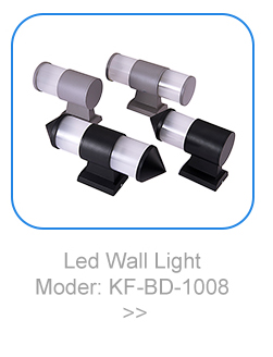 Modern fancy light design wall lamp adjustable beam angle
