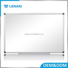High quality customized size and frame magnetic whiteboard for classroom and office