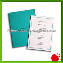 High end invitation cards with one insert
