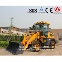 China electric mini wheel loader quicke loaders ZL10B with Euro iii engine