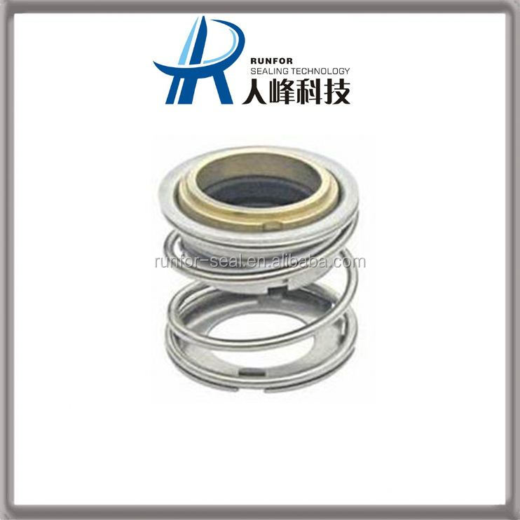 Rotating shaft seals stainless single doule lip PTFE steel seal