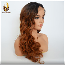 Wholesale factory price synthetic lace front wig in stock