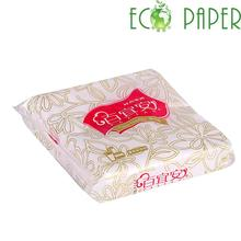 Oem Brand High Quality Cocktail Logo Printed Paper Napkin from Manufacturer
