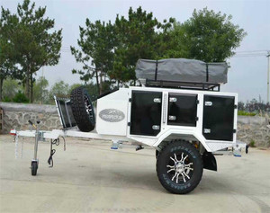 Off Road Small Soft Floor Side Folding Camper Trailer