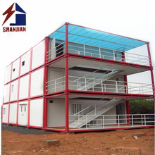 Multi-Storey Building Constuction Prefab House/ Prefabricated Villa Luxury for Modular Container House
