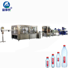 Factory Directly Supply automatic plastic pet bottle distilled small beer bottling machine