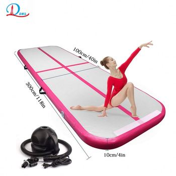 2019 Most popular outdoor fitness air mat for gymnastics