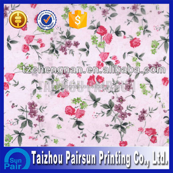 Flower IML label printing for various plastic container