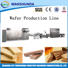 Automatic wafer assembly production line