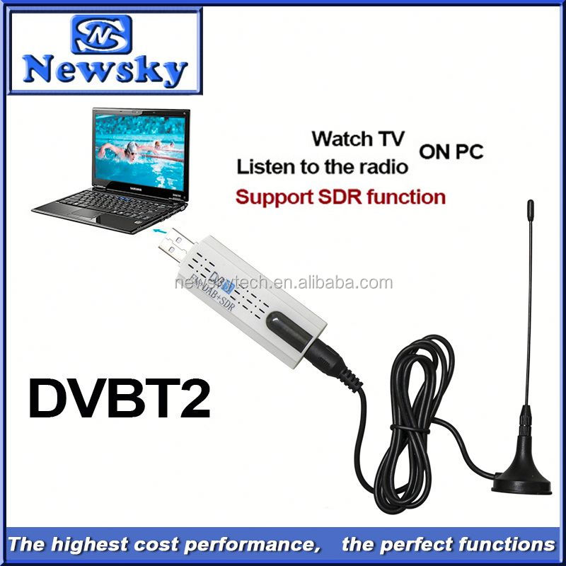 Portable usb dvb-t2 ati tv tuner driver support SDR function