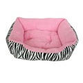 ORIENPET & OASISPET Pet bed Dog soft bed Pink Color PP cotton Ready stocks NTD9957 Pet bed Pet products