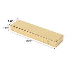 gold packaging square gift chocolate bar box