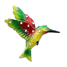polyresin 3d souvenir bird shape fridge magnet