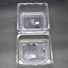Hot Sale Transparent Hard Plastic Fruit Packing Box/ Food Storage Container