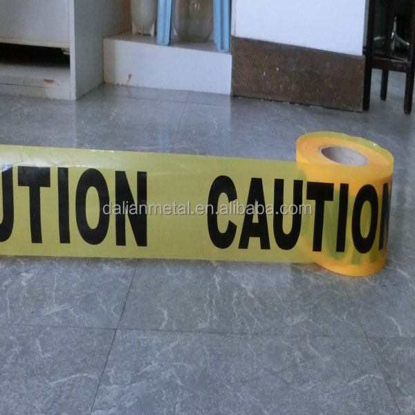 PE Woven fabric traffic printable barrier tape, caution tape, warning tape supplier