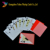 jumbo index 0.32mm plastic playing cards with custom design in bulk YH918