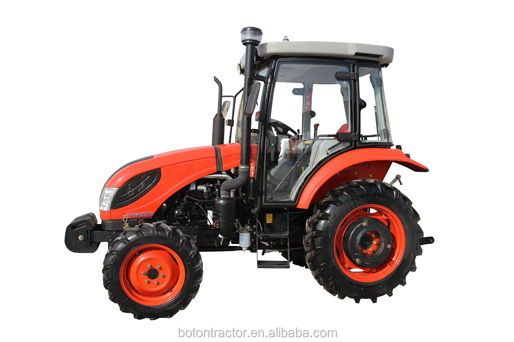 2016 new design 55HP agricultural 4WD wheeled tractor