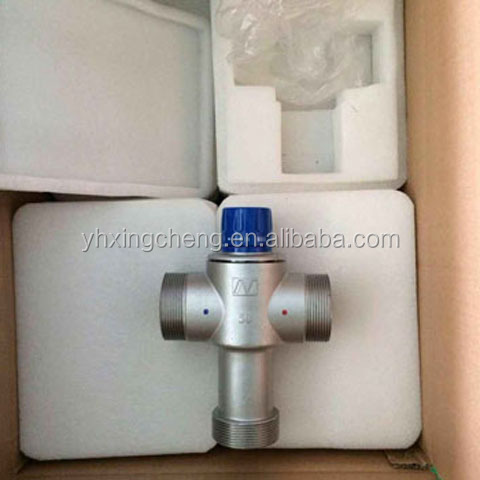 "Alibaba China Supplier 2"" DN50 Stainless steel Solar Energy Thermostatic Mixing Valve"